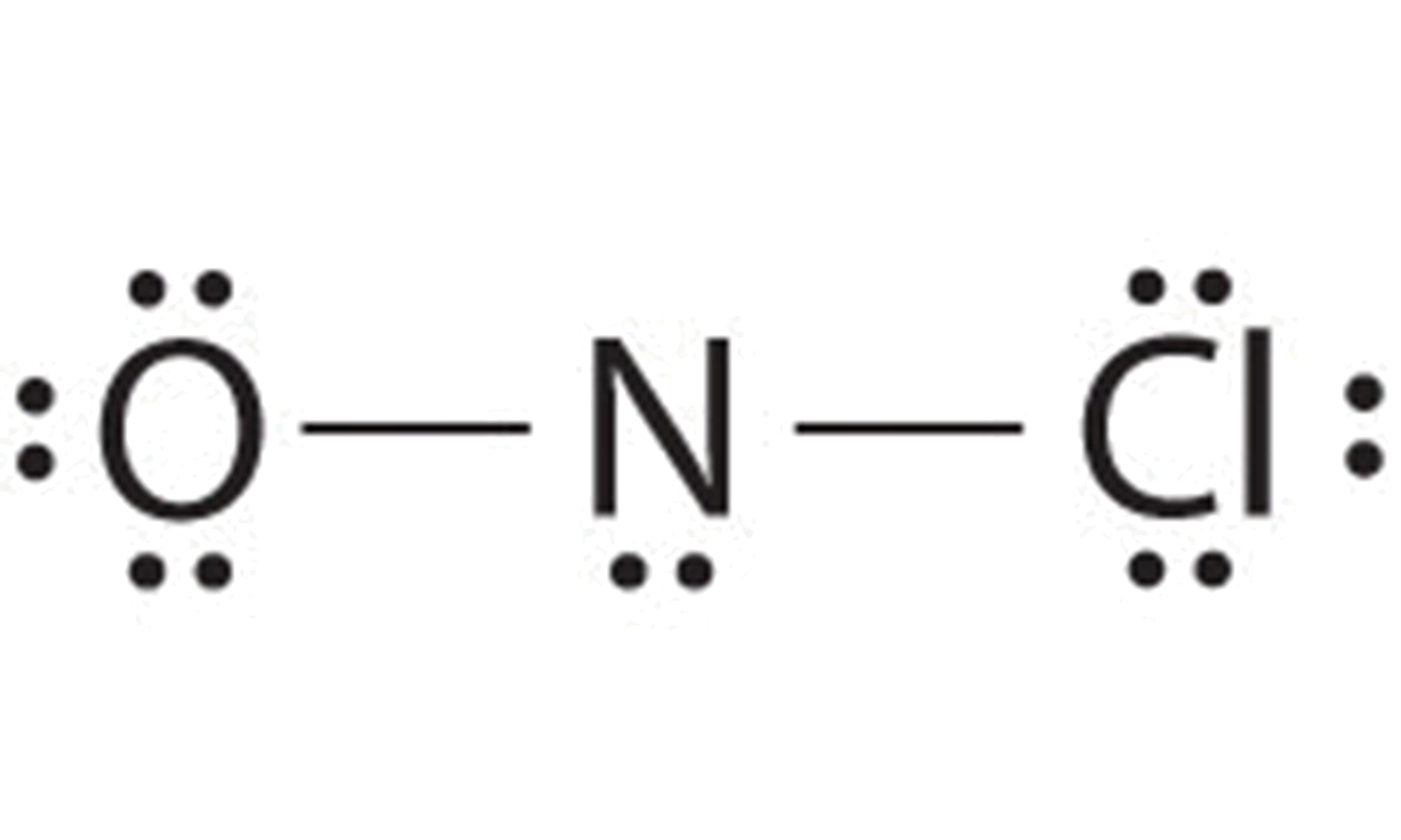 because this lewis structure has only 6 electrons around the central  nitrogen, a lone pair of electrons on a terminal atom must be used to form  a bonding