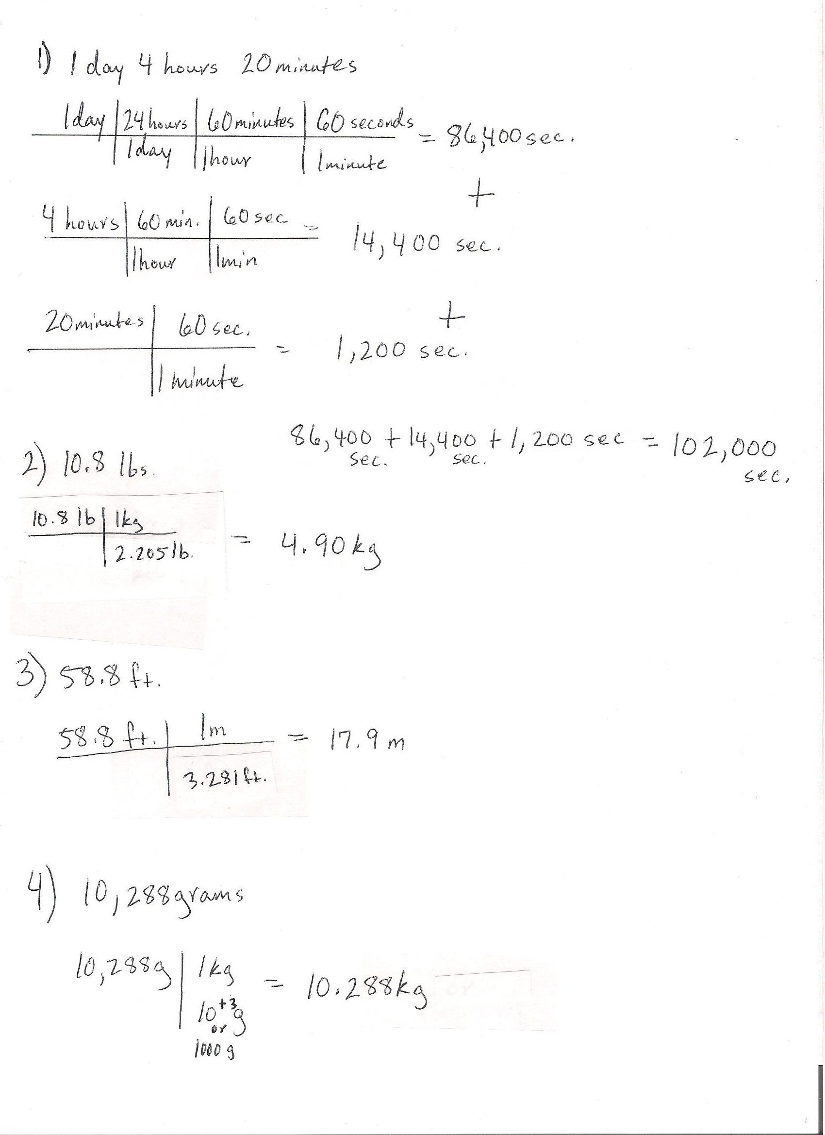 SI Units Chemistry LibreTexts – Unit Analysis Worksheet