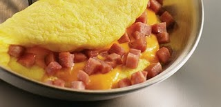 Cheese omelette.